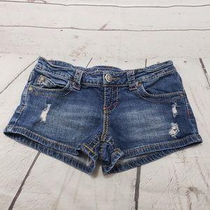 American Rag Shorts Size 3 CIE Womens Blue Denim